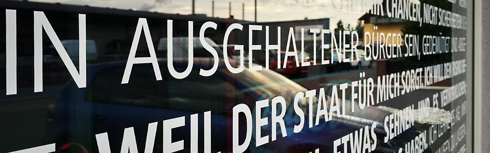 """Sichtschutz """"Ein freier Mensch"""""""